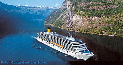 Kreuzfahrtschiff Costa Deliziosa