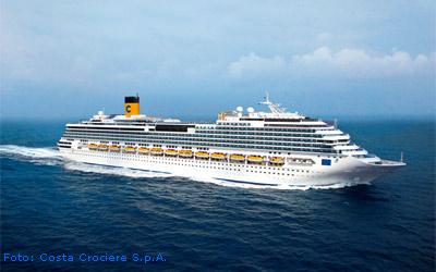 Kreuzfahrtschiff Costa Favolosa