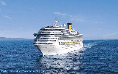 Kreuzfahrtschiff Costa Fortuna