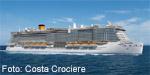 Kreuzfahrtschiff Costa Smeralda
